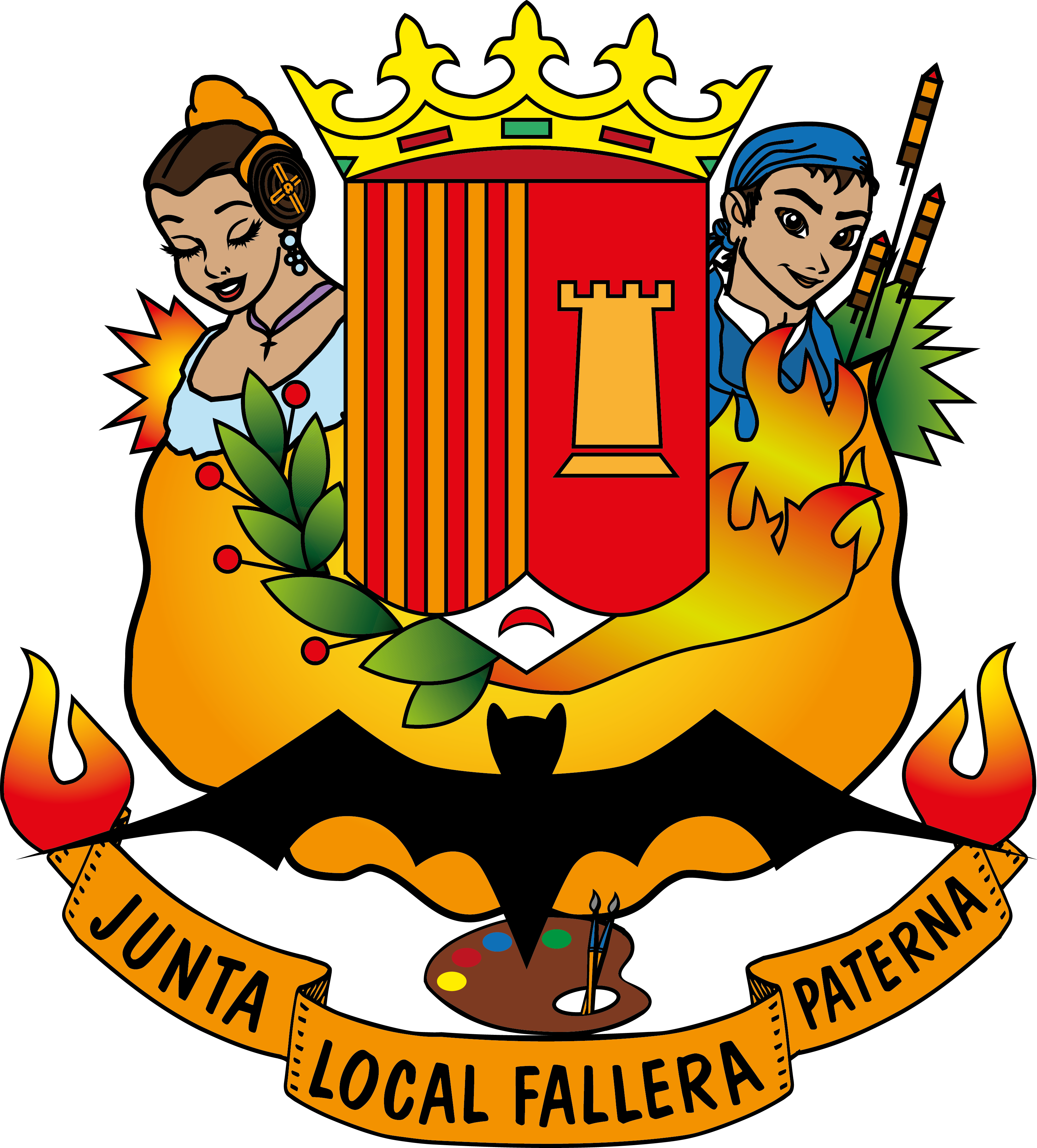 escudo Junta Local Faller Paterna